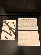 JW Anderson London Fashion Week Book Of Postcards Great Gift Idea