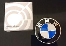 BMW Logo Emblem Motorhaube 82 + 74 mm Durchmesser - 2 Stück