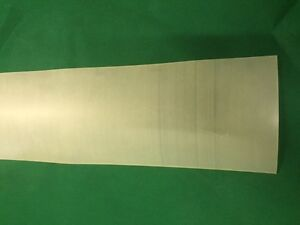Translucent Silicone 500mm x 500mm x 1mm Square sheets
