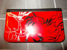Nintendo 3DS XL Pokemon XY handheld console with charger and case