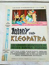 ASTERIX und KLEOPATRA / GROSSER SONDERBAND 2 / ERSTAUFLAGE 2,50DM / 1969 / EHAPA