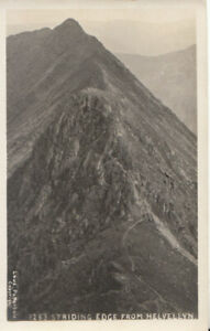 Cumbria Postcard - Striding Edge from Helvellyn - Ref TZ6287