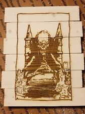 Cryptkeeper Tales from the Crypt custom wood sign poster