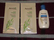 Lot of 3: Aveeno Active Naturals Lotion & Pure Renewal Shampoo and Conditioner