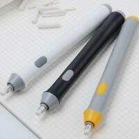 3Colors Handy Electric Battery Operated Pencil Eraser Rubber Out Pen Supplies w/
