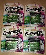 Energizer Recharge Power Plus AA Batteries 16 Lot NiMH 2300 mAh NH15BP-4 NEW