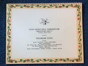 1999 Paper Doll Convention Calendar