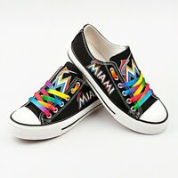 Miami Marlins Shoes Unisex Baseball Shoes MLB shoes Marlins MLB sneakers Gift