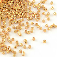 900PCS Delica Beads Japanese Seed Bead Glass Galvanized Gold 11/0 Round 1~1.5mm