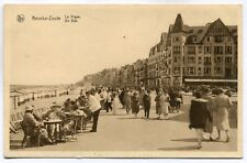 CPA - Carte Postale - Belgique - Knokke - La Digue - 1936 (SV6584)
