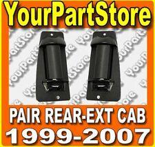 99-07 CHEVY SILVERADO EXTENDED CAB PICKUP PU TRUCK REAR DOOR HANDLES PAIR Set