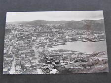 Aerial View of the Harbour Wellington New Zealand Postcard