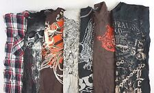 Mixed Levi's Kids Boys Lot of 7 Graphic Tee Shirts Size XXL-XL [BM16671]