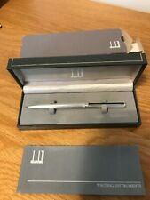 More details for vintage dunhill gemline silver plated mechanical pencil