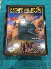 Escape the Room Mystery at the Stargazer's Manor - Thinkfun Board Game Complete