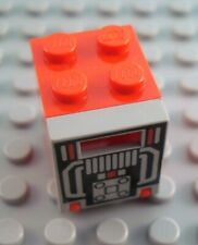 2x Container coffre box 2x2x2 rouge//red 4345 NEUF Lego