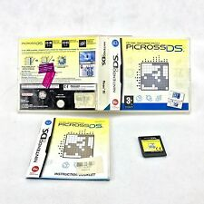 Picross DS video Game Nintendo picture crossword puzzle family fun community