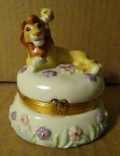 Rare Lenox Disney The Lion King Stamp Treasure Trinket Box Post Office Usps