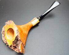 Vintage Hand Made Micoli Smoking Pipe 1972 Retailed W O Larsen Danish Briar
