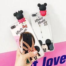 Espejo De Niñas Lindo Mickey Minnie Hello Kitty Cubierta de Estuche Para Iphone X 8 6S 7 Plus