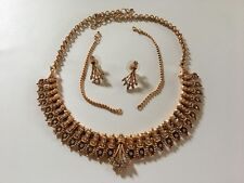 plated jewelry set Indian ethnic gold