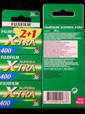 FUJI SUPERIA X-tra 400 36 Grabados 6 Piezas MHD/expiry date 04/2019