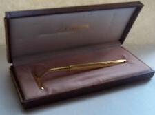Comoy's Of London Luxury Golden Razor in Original Box