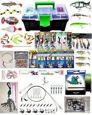 Angelset Start- Blinker- Spinner- Set Zubehör: 190 Teile, Raubfisch/Forelle