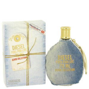 DIESEL FUEL FOR LIFE DENIM COLLECTION 75ML WOMENS PERFUME EDT SPRAY SEALED BOX