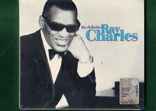 RAY CHARLES  -  THE DEFINITIVE DOPPIO CD NUOVO SIGILLATO