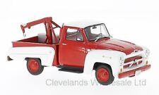 WHITEBOX WBX233 - 1/43 CHEVROLET 3100 TOW TRUCK RED/WHITE 1956