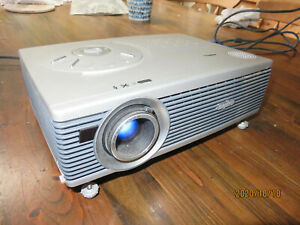 Sanyo Pro X Multiverse projector. Used. With leads