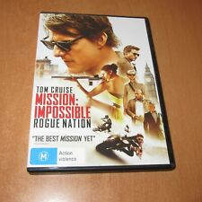 MISSION IMPOSSIBLE : ROGUE NATION ( 2015 DVD , REGION 4 )