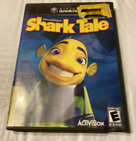 DreamWorks' Shark Tale (Nintendo GameCube, 2004) No Manual