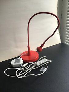 IKEA Jansjo Desk Lamp Red