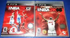 NBA 2K14 + NBA 2K13 Sony PlayStation 3 *Factory Sealed! *Free Shipping!