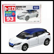 TOMICA #93 NISSAN LEAF 1/63 TOMY 2017 October NEW DIECAST CAR WHITE