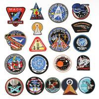 UFO Alien Space Embroidery Patch Badge Iron on Clothes DIY Design