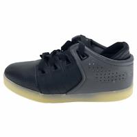 Osiris Mens D3V Lights 80196 Black Leather Skate Shoes Lace Up Low Top Size 5