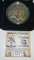 NEW Disneyland 65th Anniversary Commemorative Limited Edition 1955 Coin 376/6500