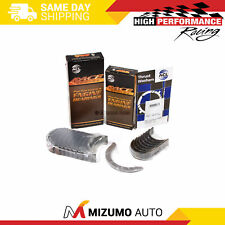 RSX TSX w//Extra Oil Clearance ACL STD Size Main /& Rod Bearing Set For Honda//Acura K20A2 K24A1 K24A2 K20Z1 K24A4