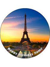 EIFFEL TOWER PARIS 19CM EDIBLE ICING IMAGE CAKE TOPPER #2