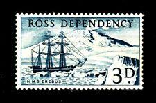 Ross Dependency MiNr. 1 **  postfrisch  1957 / Segelschiff