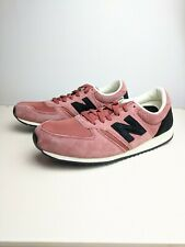 New Balance Mens Classic Sneakers Shoes Pink Black White U420CK