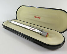 Rotring 600 silver-gold Old Style Fountain Pen B, made in Germany new old stock