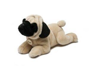 Miyoni Stofftier Hund Mops 21 cm pug Kuscheltier Plüschtier Aurora Hunde Möpse