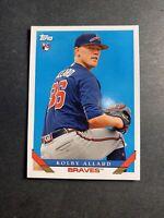 Atlanta Braves 2019 Topps Rookie Card RC Kolby Allard