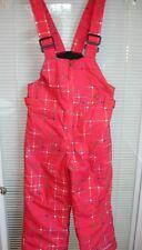 COLUMBIA OMNI-SHIELD Dark Pink Snow Slope Ski Bib Size XXS Girls 4-5 NWT