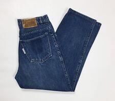 Uniform jeans donna usato vita alta blu w30 tg 44 mom jeans boyfriend hot T3046