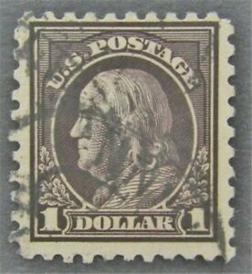 nystamps US Franklin Stamp # 460 Used $150   L30x1510